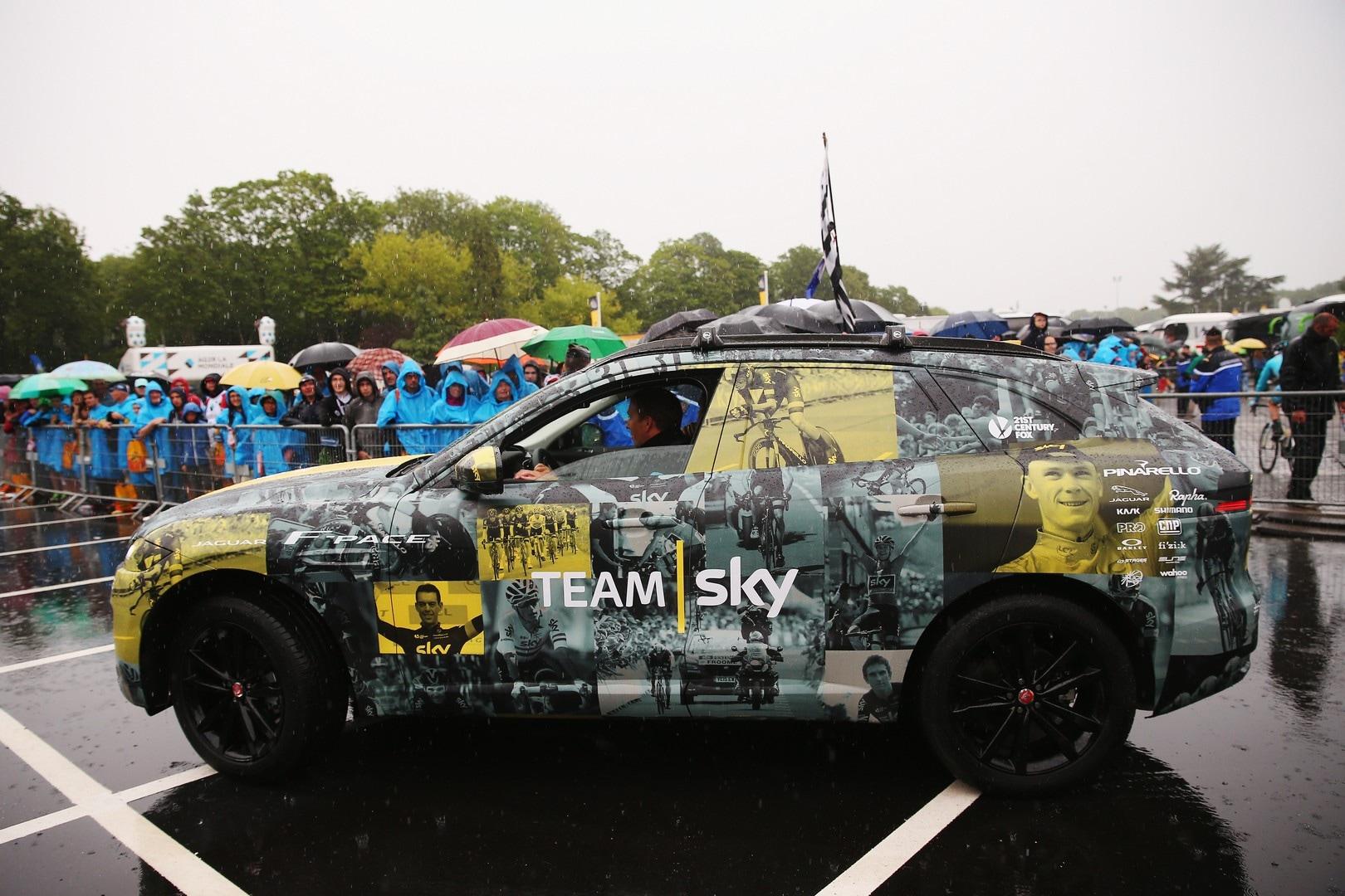 Jaguar F-Pace, prototipo speciale per il Tour de France