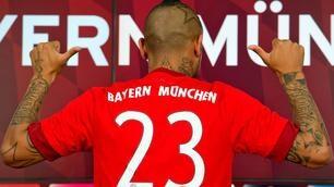 Vidal, che emozione per il primo giorno al Bayern