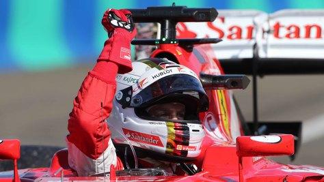 F1 Ferrari, Vettel: «Faremo l'impossibile per vincere il titolo»
