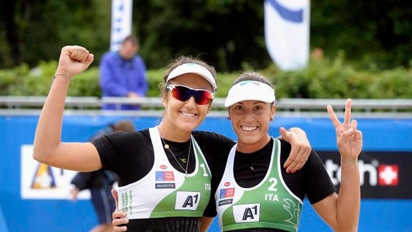 Beach Volley: Azzurri protagonisti ai Campionati Europei