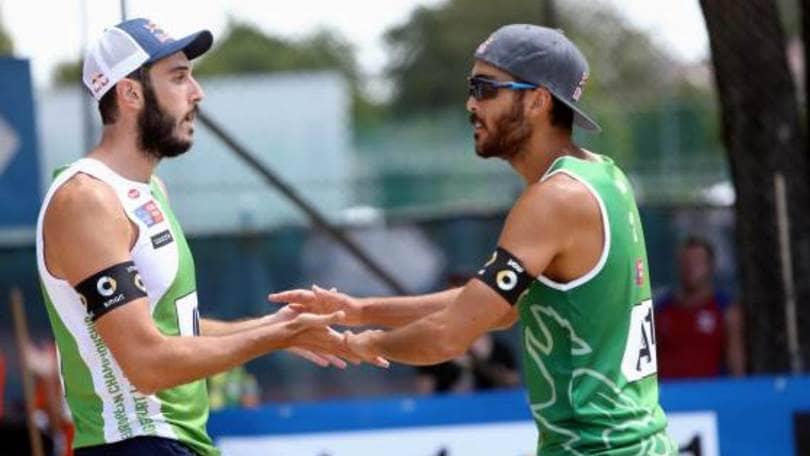 Beach Volley: Agli Europei terza vittoria per Lupo-Nicolai