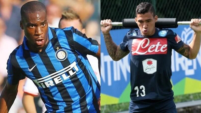 Un mese alla fine del mercato. Super Inter, piace il Napoli