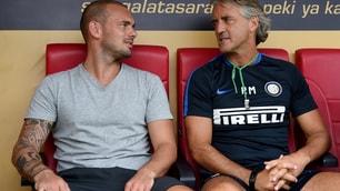 Inter, che sorpresa a Istanbul: Sneijder e Taffarel fanno visita a Mancini