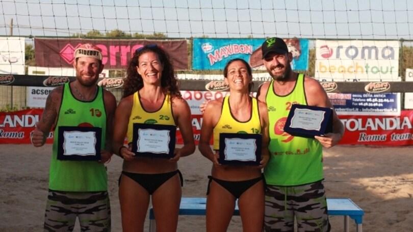 Beach Volley: Assegnati i titoli Regionali del Lazio