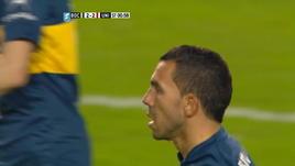Boca, Tevez ancora a segno