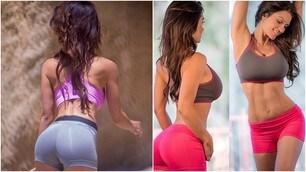 Denise Milani, il fitness lascia senza fiato