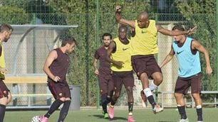 Salah si allena con il gruppo, ma la foto scompare