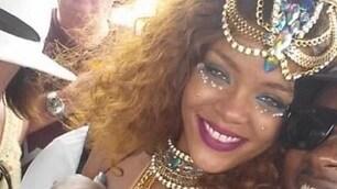 Rihanna, regina del Carnevale alle Barbados