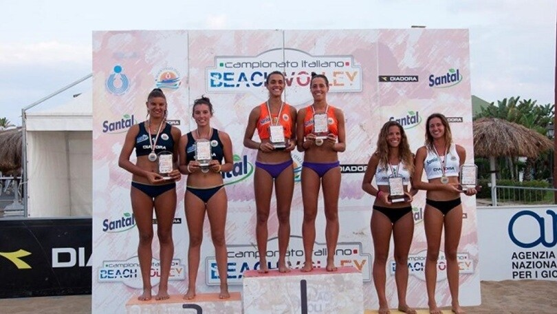 Beach Volley: Assegnati a Catania i titoli Under 19