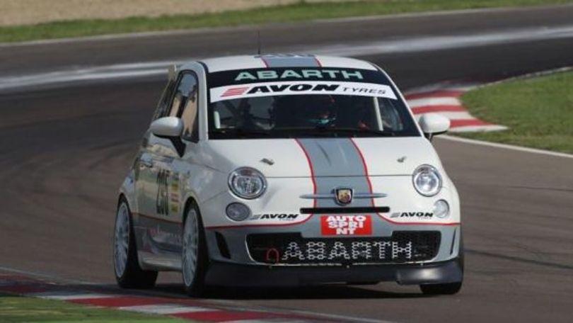 Italiano Endurance: Fisichella corre su Abarth a Vallelunga