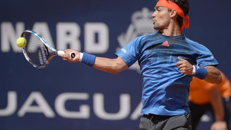 Tennis, Fognini battuto nei quarti a Kitzbuehel