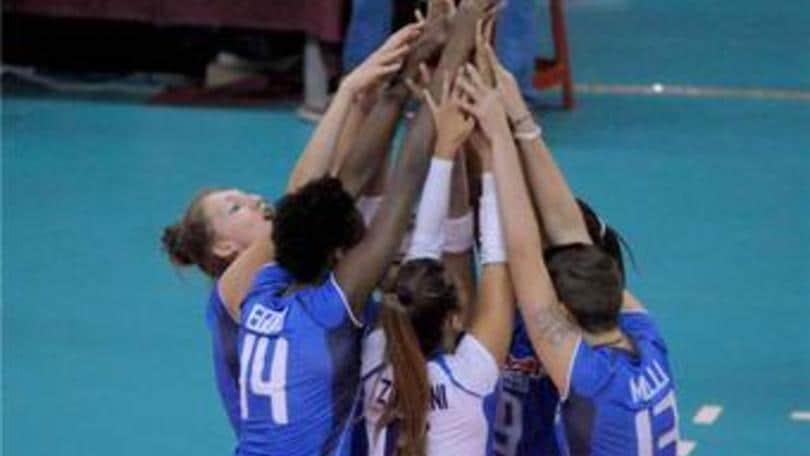 Volley: L'Under 18 parte a razzo, 3-0 alla Turchia