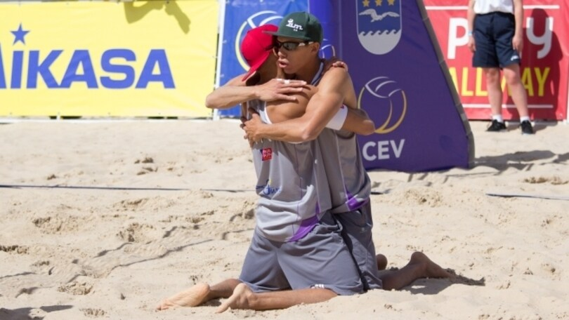 Beach Volley: A Biel gli Ingrosso nei quarti di finale