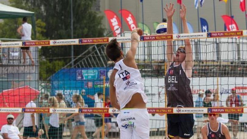 Beach Volley: Agli Europei Under 18 azzurri fuori dal podio
