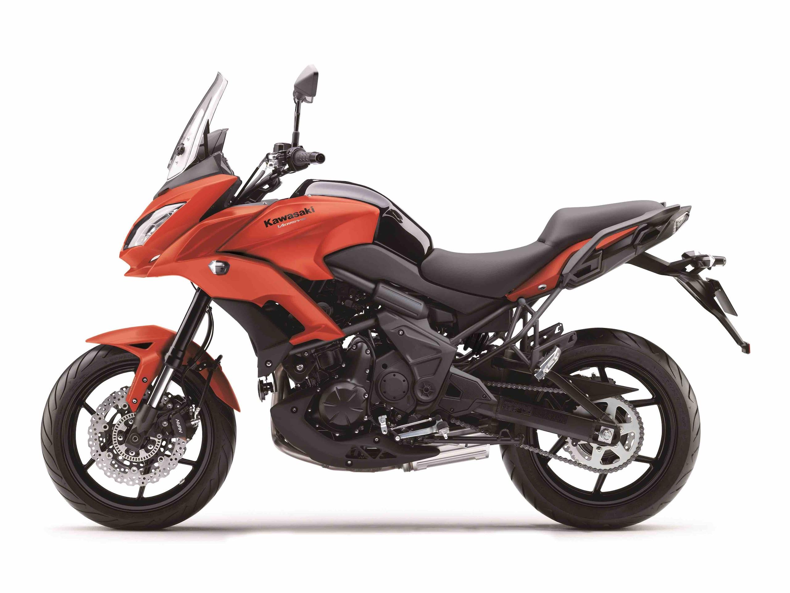 Kawasaki: la Versys 650 cambia &ldquo;pelle&rdquo;<br />