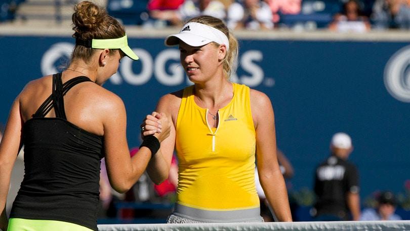 Toronto, Wozniacki fuori al 2° turno