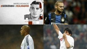 Da Kovacic a Ronaldo, ecco i 10 affari fra Inter e Real Madrid