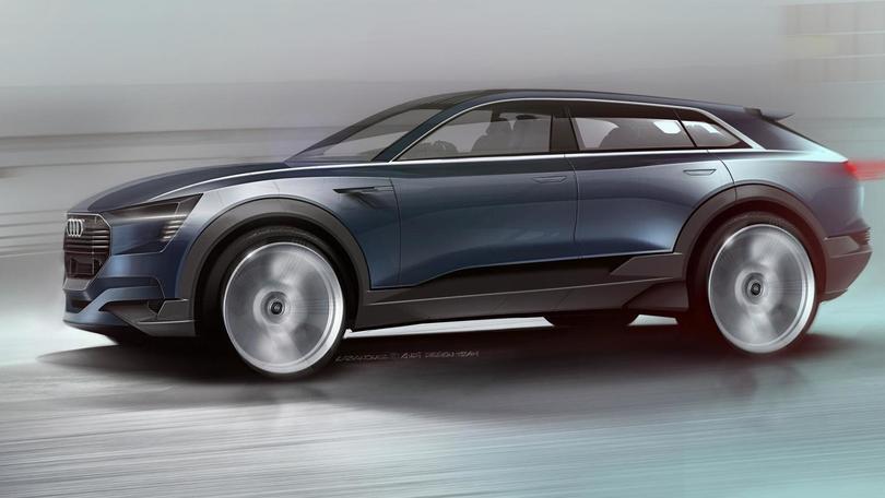 Audi e-tron quattro concept, il SUV elettrico arriva nel 2018