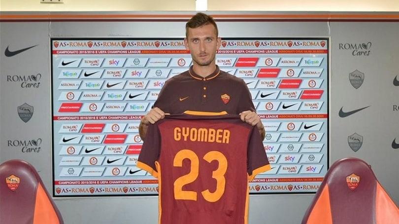 Roma, ufficiale: Gyomber arriva dal Catania in prestito