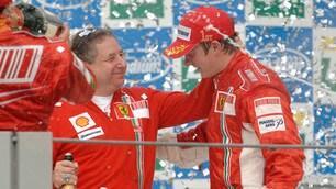 F1, Raikkonen, tutte le vittorie con la Ferrari
