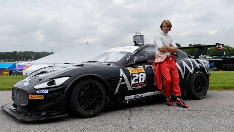 Maserati Trofeo, corre anche il figlio di James Hunt