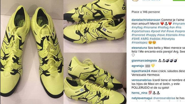 Toro, Belotti sfida tutti e Maxi Lopez va in gol con Daniela e la Svezia sulle scarpe