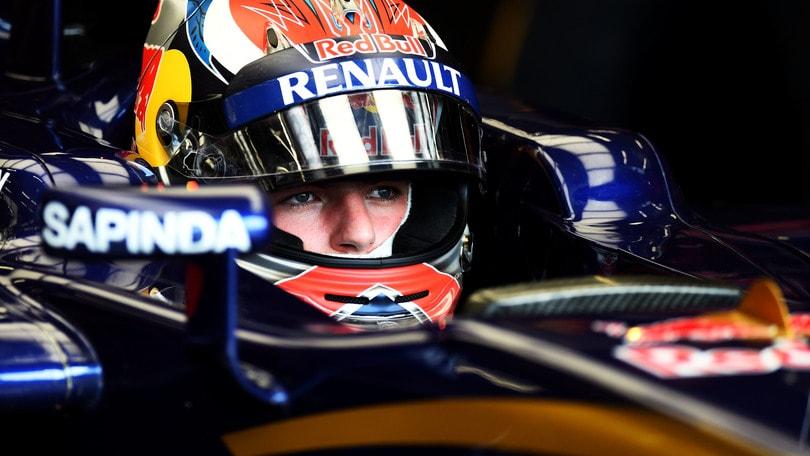 F1 Toro Rosso, Verstappen penalizzato di 10 posizioni in griglia