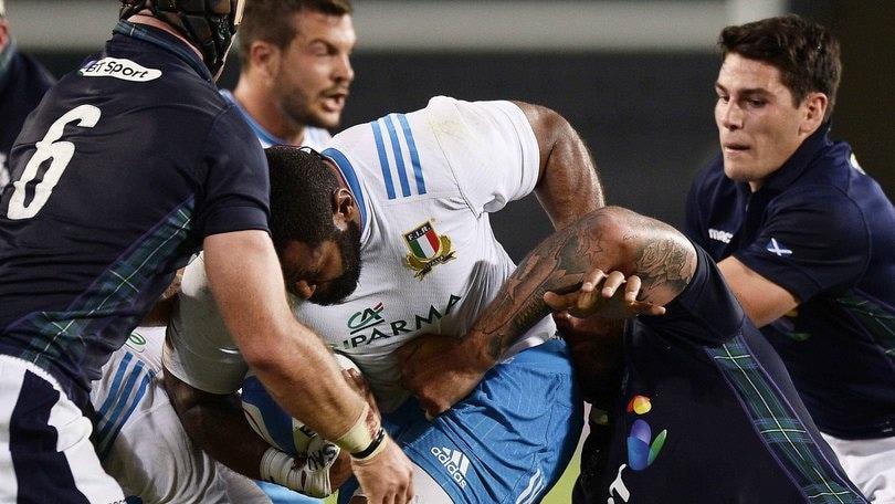 Test Match, l'Italia cede 12-16 alla Scozia