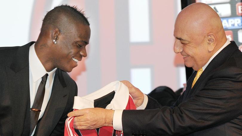 Galliani: «Per Balotelli c'è una trattativa»