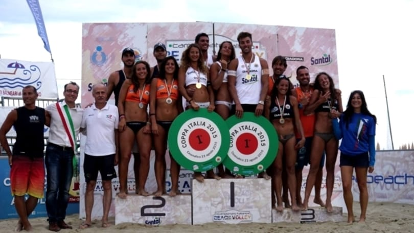 Beach volley: Caminati-Rossi vincono la Coppa Italia