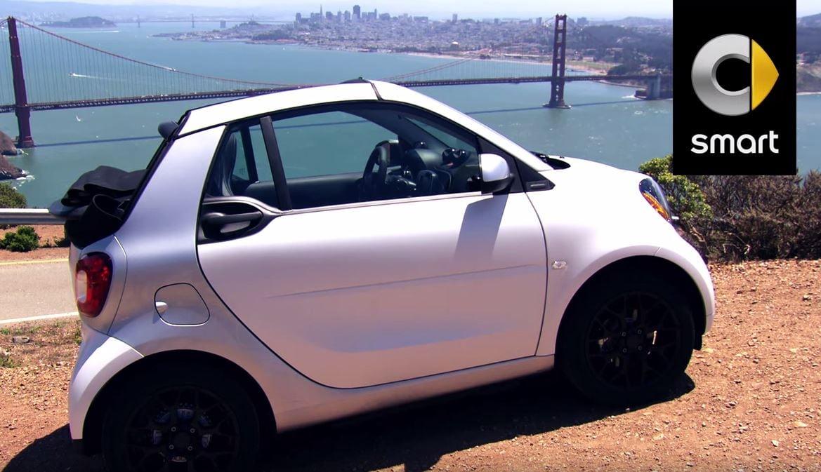 Smart fortwo cabrio, il video in anteprima