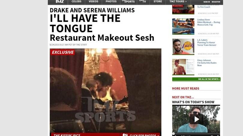 Serena Williams e Drake insieme: che passione nel privé!