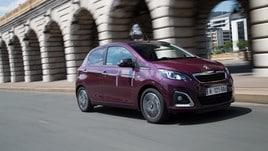 Peugeot 108 Top! 500 km con la piccola fashion victim