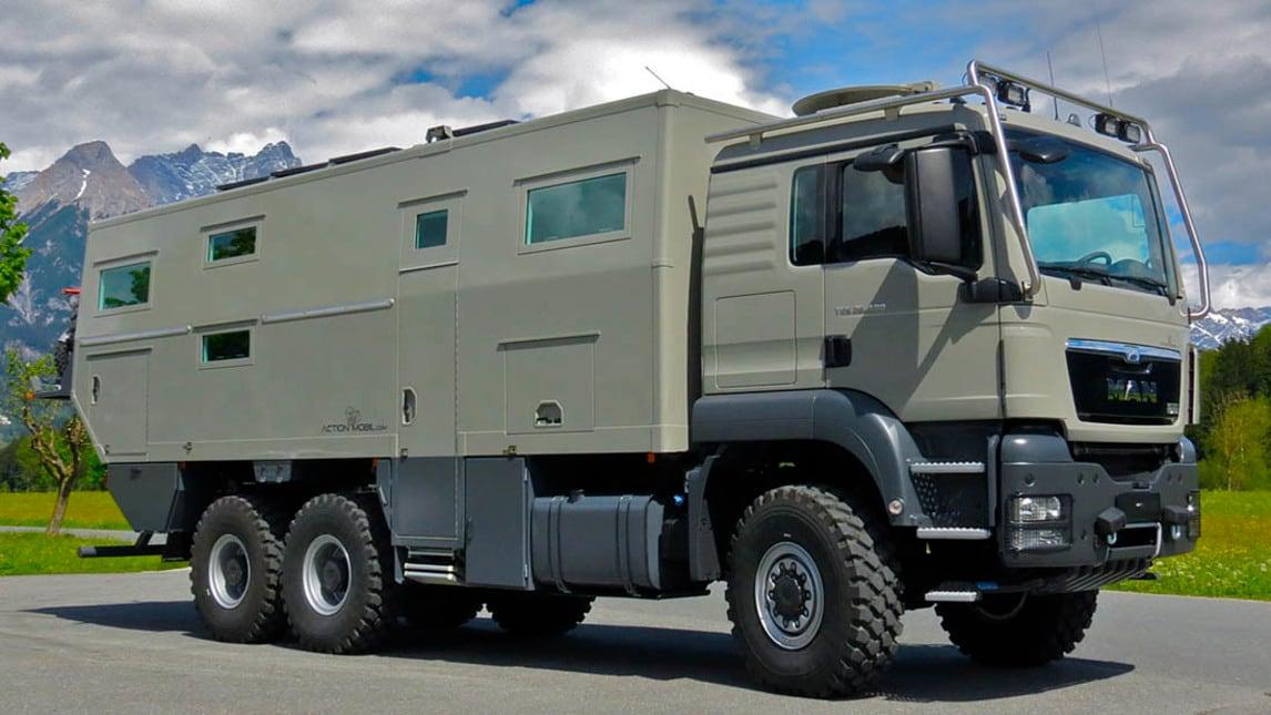 Globecruiser 7500 il camper 6x6 da 775 mila euro - Dessin 4x4 humoristique ...