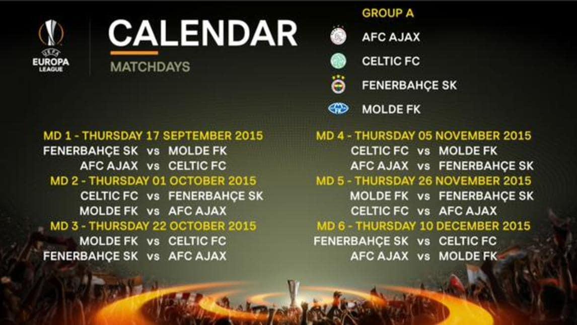 Roma Calendario Europa League.Europa League Calendario Roma Calendario 2020