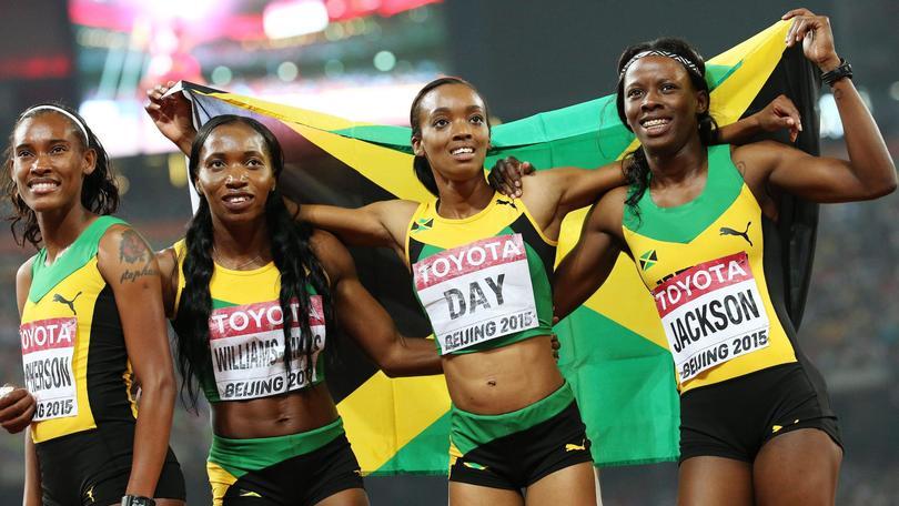 Mondiali atletica, Giamaica oro nella 4x400 donne