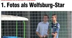 Draxler, eccolo con la maglia del Wolfsburg