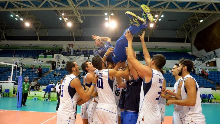 Italia di bronzo a Dubai. In finale 3-1 a Cuba