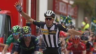 Vuelta, volata vincente di Sbaragli: è sua la 10ª tappa