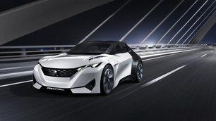 Peugeot Fractal, prove di cabrio elettrica
