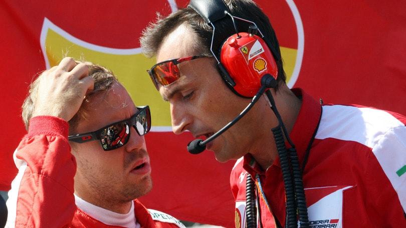 F1 Ferrari: Vettel in visita alla Brembo