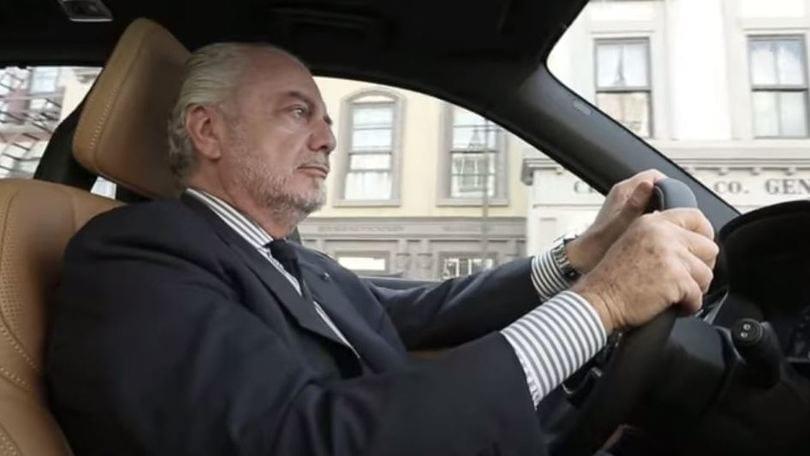 Volvo Xc90 Aurelio De Laurentiis Ci Guida Nel Suo Mondo