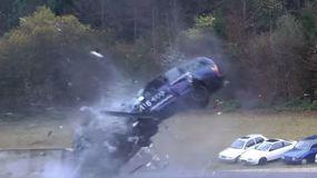 Crash test: cosa rimane di un'auto a 200 km/h