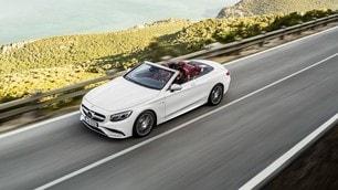 Mercedes Classe S Cabrio, prime foto