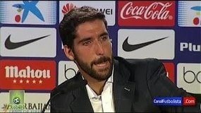 Atletico Madrid, Raul Garcia scoppia in lacrime