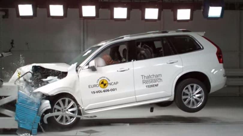 Le auto più sicure del 2015, Volvo XC90 al top