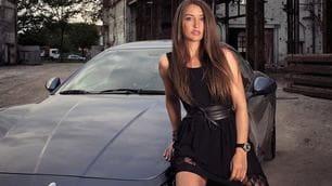 Angélique Detavernier, pilota e top model
