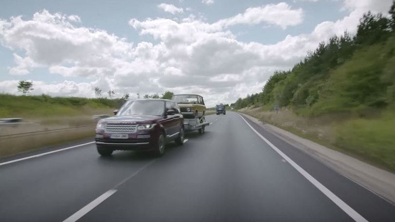 "Land Rover Transparent Trailer, il rimorchio ""sparisce"""