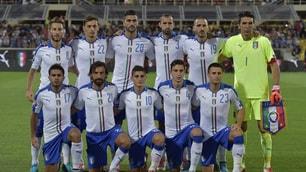Italia-Malta, gli azzurri sfoggiano la nuova maglia