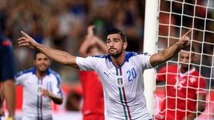 """Pellè, """"una mano"""" a Conte: l'Italia batte Malta 1-0"""